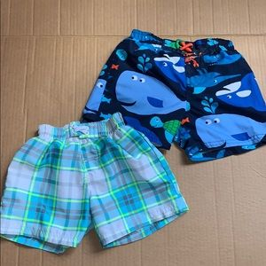 Swimming trunk infant bundle